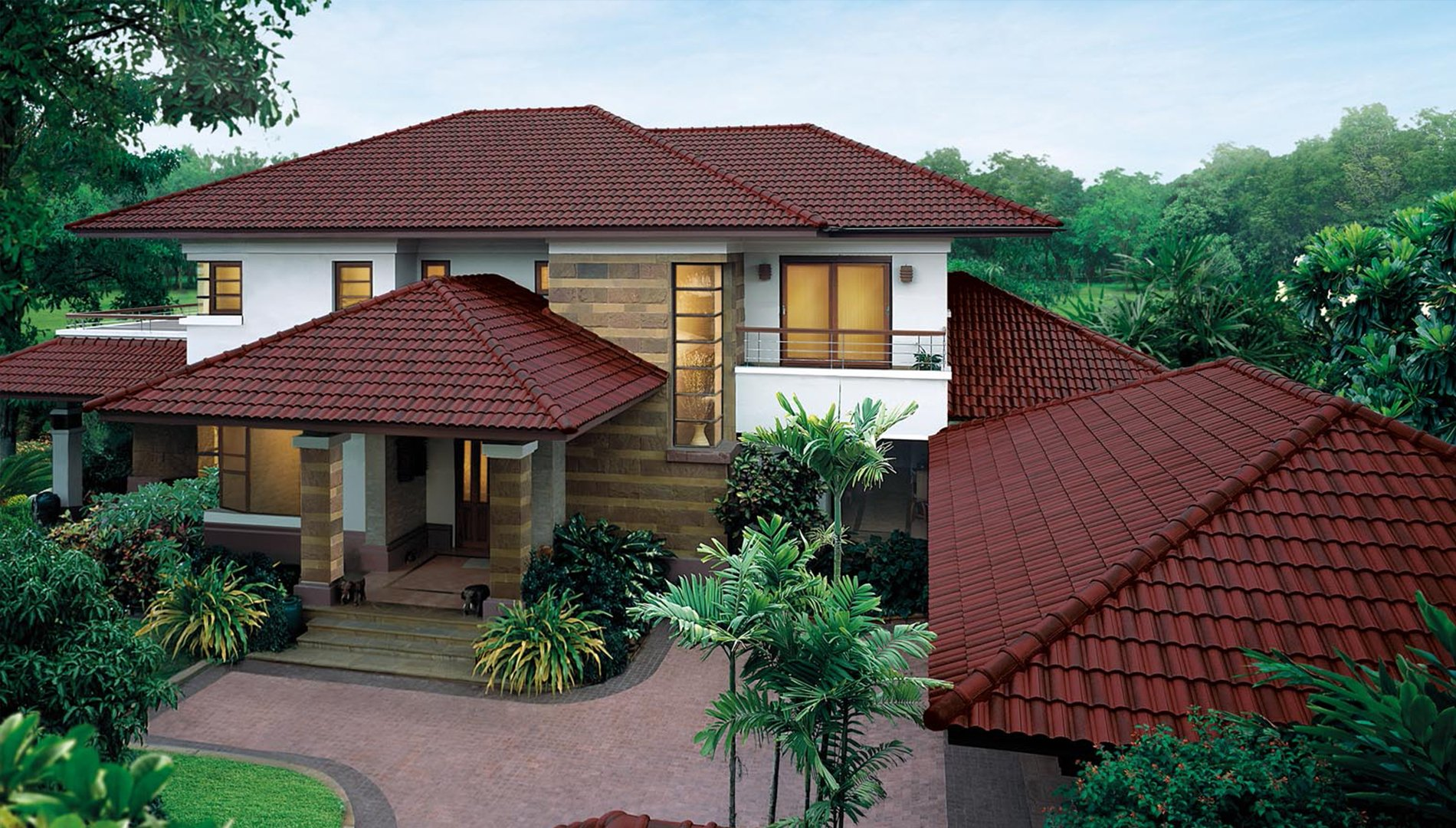 Ceramic Clay Roof Tiles
