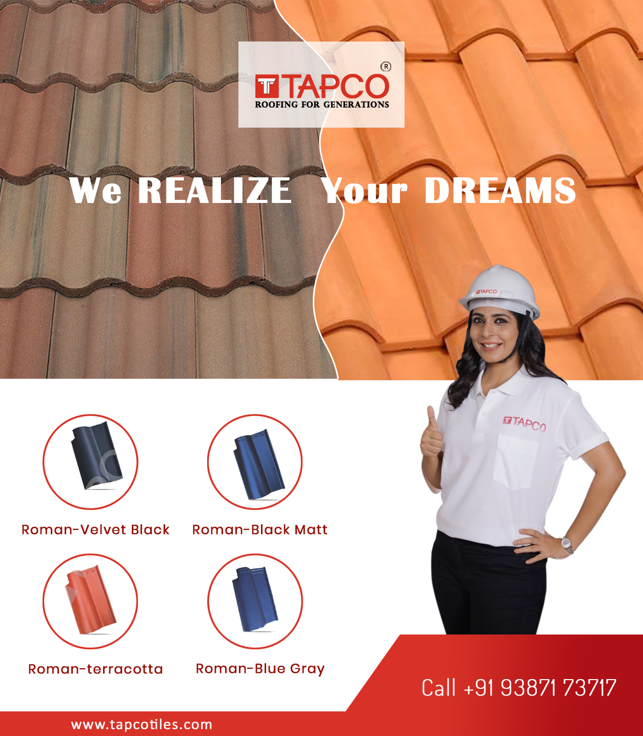 Best roof tiles in kerala