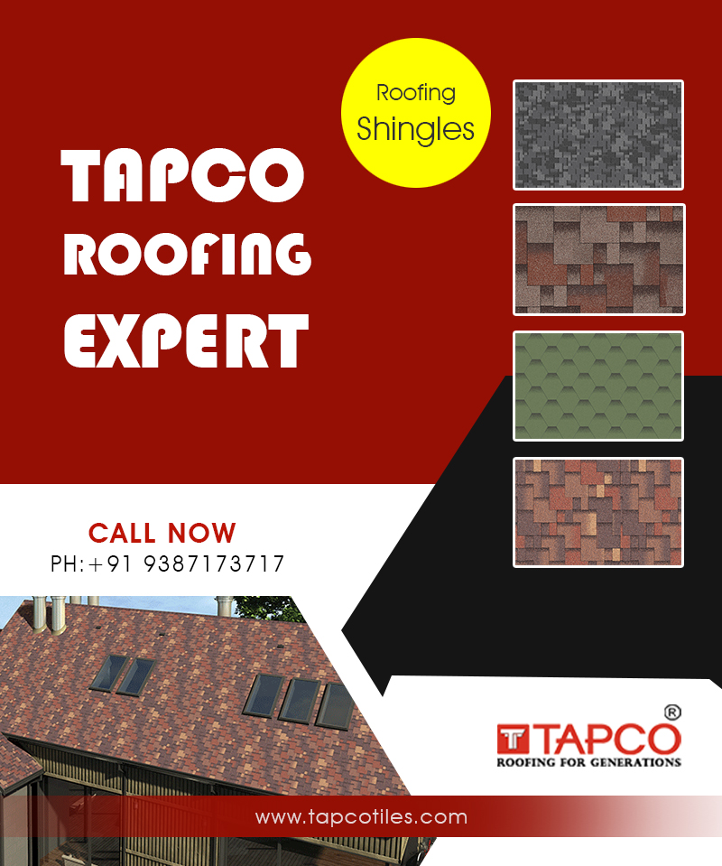 Aquaizol Roofing Shingles in India