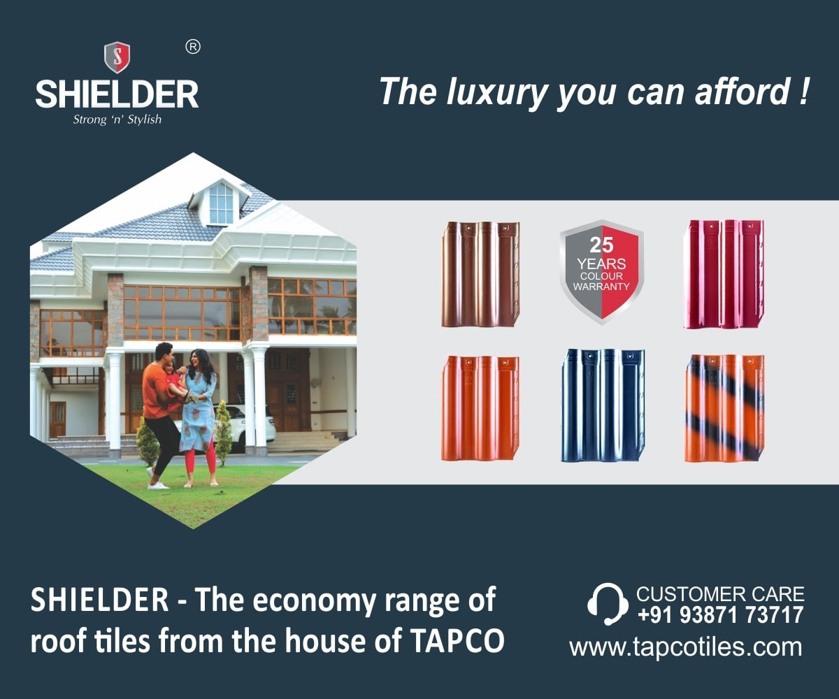 Shielder roof tiles