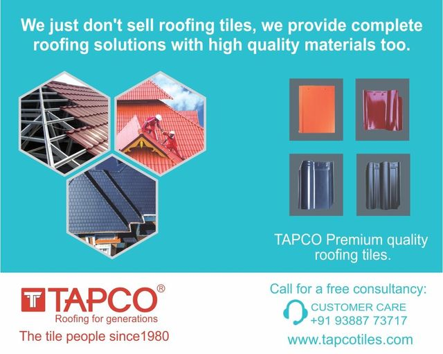 Ceramic Roof Tiles In Thrissur