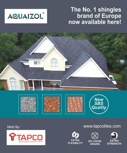 SBS Quality Roof Shingles In Thrissur